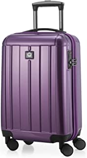 "Hauptstadtkoffer Kotti - Carry on Luggage Suitcase Hardside Spinner Trolley 20"" TSA, Glossy, Purple, 56cm"