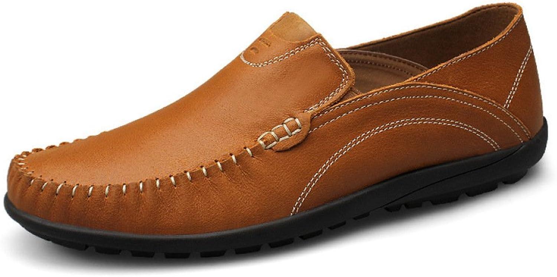HAOXIAOZI Frühling Freizeitschuhe Herrenschuhe Bean Schuhe Abriebfest Abriebfest Abriebfest Fahr Schuhe Lederschuhe  a4d6a8