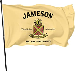 Ovqovm2ek Jameson Irish Whiskey Flag 3' X 5' Indoor Outdoor Banner