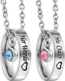 couples necklace set