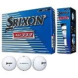 DUNLOP(ダンロップ) ゴルフボール SRIXON AD333 2018年モデル 1ダース(12個入り) ホワイト