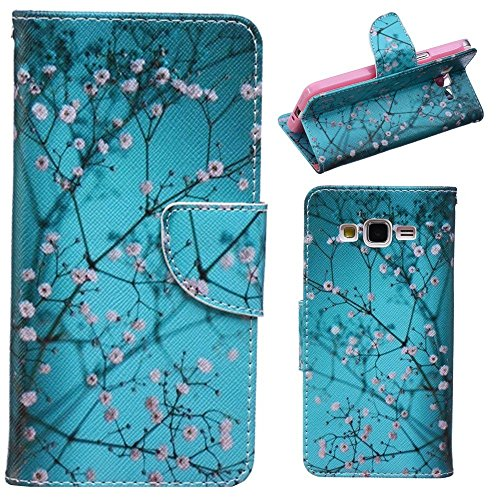 HUANGTAOLI Custodie Portafoglio Flip Cover per Samsung Galaxy Grand Prime Value Edition G531F/DUOS G531H