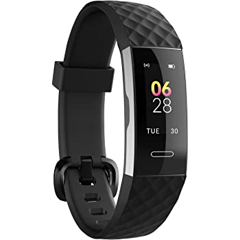 Noise ColorFit 2-Smart Fitness Band with Coloured Display, Activity Tracker Steps Counter, Heart Rate Sensor, Calories Burnt Count, Menstrual Cycle Tracking for Women (Midnight Black)