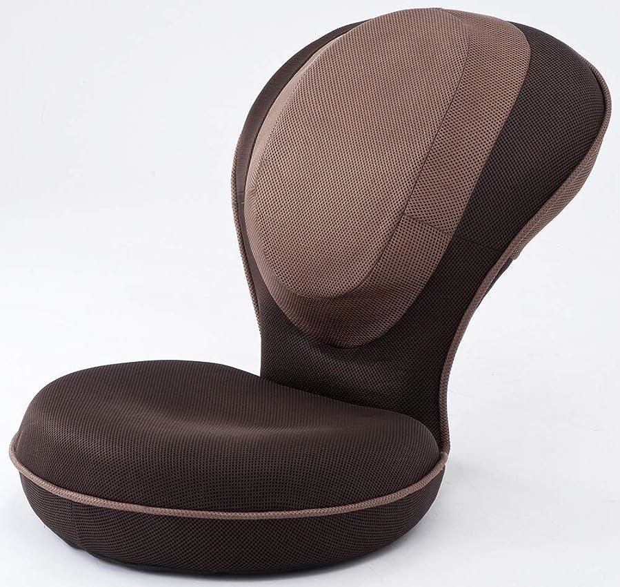 悪意会員証拠背筋がGUUUN 美姿勢座椅子 ブラウン(姿勢補正+体の歪みストレッチ座椅子)