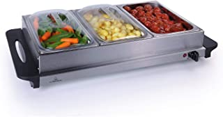 Premium 2 in 1 Extra Large Buffet Warmer & Hot Plate - 3