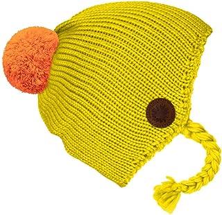 Multicolour mikk-line Girls WOOL M/ütze gestreift Hat Flint 735 53