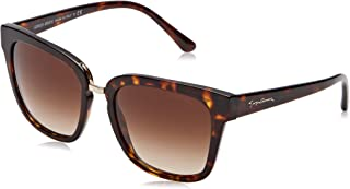Giorgio Armani Rectangle Sunglasses for Women , Brown , AR8106 50261354