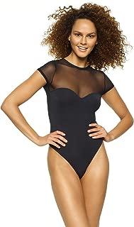 Felina | Body Zone Modal & Mesh Bodysuit | Lingerie | Sleepwear | Lounge