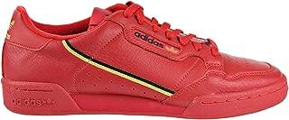 Men's Originals Continental 80 Scarlet/Gold Metallic/Black Leather Casual Shoes 11 M US