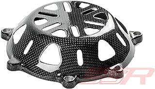Ducati Carbon Fiber Vented Dry Clutch Cover (Type 2) MONSTER S2R 1000/MONSTER S4/MONSTER S4R/MULTISTRADA 1000/ST2/ST3/ST4/ST4S/STREETFIGHTER