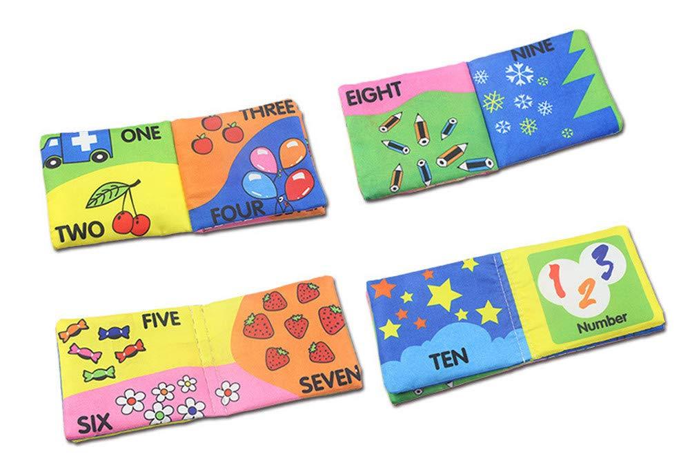 Mealeaf - Libro de coñac, diseño con Texto en inglés Baby Intelligence Developence: Amazon.es: Hogar
