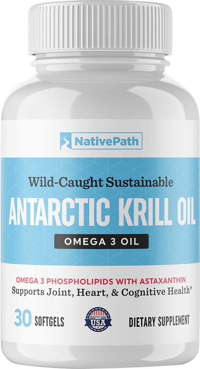 NativePath: Antarctic Free Shipping New Krill Limited price Oil Omega- - Wild-Caught Sustainable