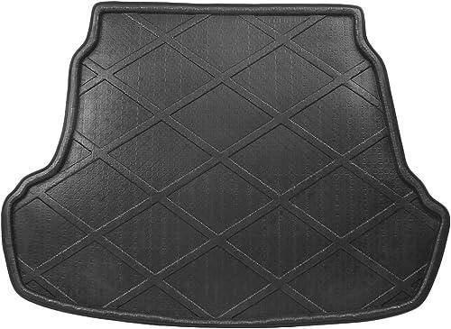 high quality Mallofusa Cargo Liner Rear Cargo Tray Trunk Floor Mat Compatible for Hyundai popular outlet online sale Sonata 4-Door Sedan 2015 2016 2017 Black outlet sale
