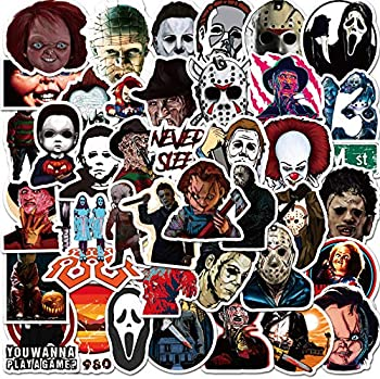 50-Pack Salemar Halloween Theme Stickers
