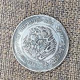 Japón,Moneda Conmemorativa,Meiji 8 Años,Meiji 12 Años,Alta Calidad,Colección,Antigüedades,Colección,Gabinete de Exhibición,2 Piezas Moneda de Desafío/B / 2 Piezas