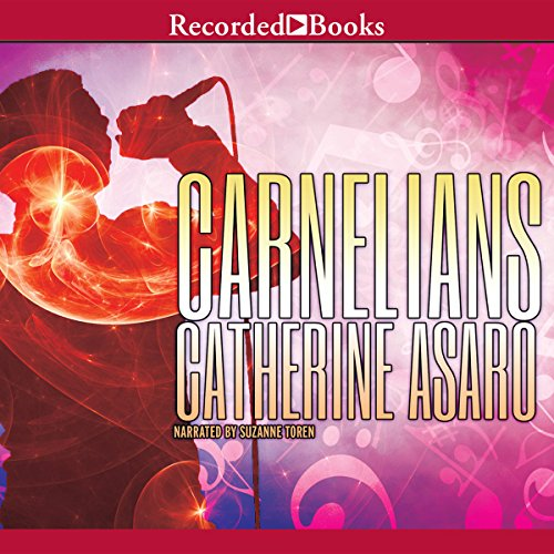 Carnelians audiobook cover art