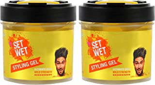 Set Wet Hair Gel Ultimate Hold, 250ml (Pack of 2)
