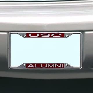 NCAA South Carolina Fighting Gamecocks License Plate Frame Alumni