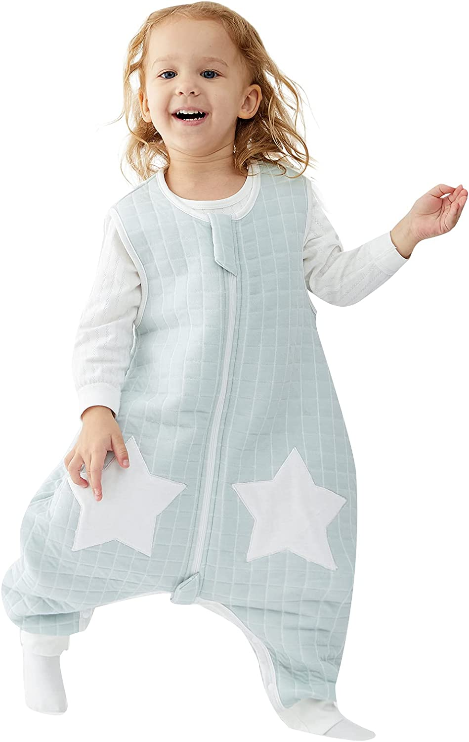 Max 78% OFF Sleep Sack with Feet Sleeveless 100% Cotton Tog 1.5 Free Shipping Cheap Bargain Gift