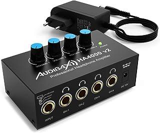 Audibax HA4000 v2 wzmacniacz do słuchawek