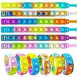 ZNNCO 12PCS Push Pop Fidget Toy Fidget...
