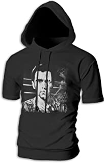 Peter Gabriel Peter Gabriel 3 Melt Short Sleeve Hoodie Man Casual Sweatshirt Personality Pullover Clothes No Pocket