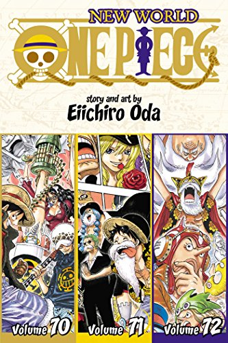 One Piece (3-in-1 Edition), Vol. 24: Includes Vols. 70, 71 & 72