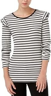 Alfani Maison Jules Ruffled Top Fashionable Dress Black W XSmall