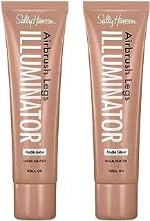 Sally Hansen Airbrush Legs Illuminator Nude Glow, 2 Count