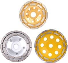 115/125/180mm Diamond Double Row Grinding Disc Brick Concrete Cut Grinding Disc for Angle Grinder Glass Ceramics Cutting Tools