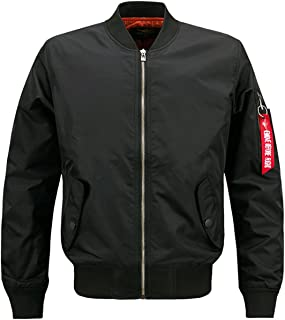 Men's Casual Winter Warm Thicken Quilted Puffer Short Bomber Jacket