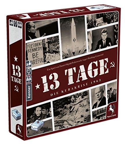 Pegasus Spiele 57300G - 13 Tage - Die Kubakrise 1962 (Frosted Games)