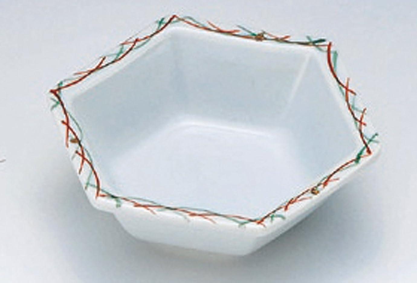 不注意奨励楕円形すすき 六角 11cm小鉢 取皿や前菜、フルーツ皿としても