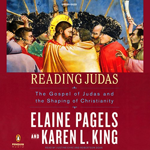 Reading Judas     The Gospel of Judas and the Shaping of Christianity              By:                                                                                                                                 Elaine Pagels,                                                                                        Karen L. King                               Narrated by:                                                                                                                                 Justine Eyre,                                                                                        Robertson Dean                      Length: 3 hrs and 45 mins     116 ratings     Overall 4.0