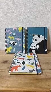 ロルバーン ノート L 3冊セット パンダ 動物園 東京限定 上野 動物園
