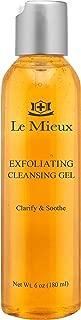 Le Mieux Exfoliating Cleansing Gel - Lactic & Salicylic Acid Face Wash (6 oz / 180 ml)