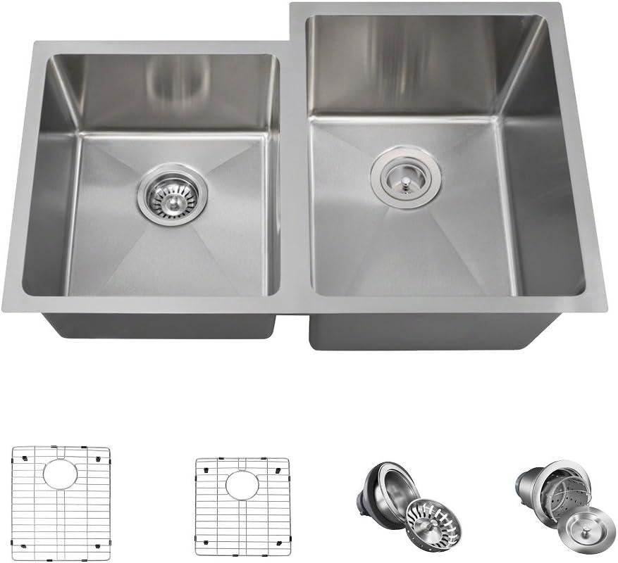 3120R 迅速な対応で商品をお届け致します 16 Gauge Stainless Steel Kitchen 5 Ensemble Item Bundle - トレンド