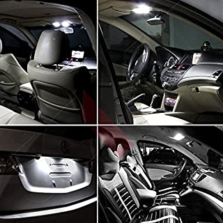cciyu Full Set Xenon White LED Interior Light Package Kit Deal Replacement fit for Hummer H2 2003-2009