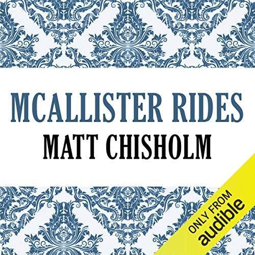 McAllister Rides audiobook cover art
