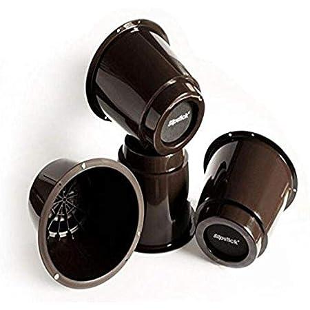 Slipstick CB650 - Elevador para Cama elevadora (5 Pulgadas, 4 Unidades), Color marrón