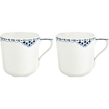 【正規輸入品】 ロイヤルコペンハーゲン プリンセス マグカップ 300ml ペア 1017244