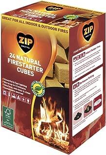 Zip Natural Firestarter Instant Light Cubes, 24 Count Pack