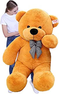 OSJS Soft Toys Lovable/Huggable Teddy Bear for Girlfriend/Birthday Gift/Boy/Girl Brown (90 cm)