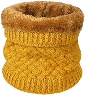 BETOY Sciarpa in maglia unisex, Inverno scamosciato spessore scaldino per sciarpa per donne e uomini sciarpa - Maglia Spes...