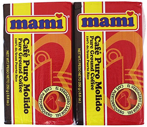 Mami Pure Ground Coffee 8.8 Ounces each (Pack of 2)