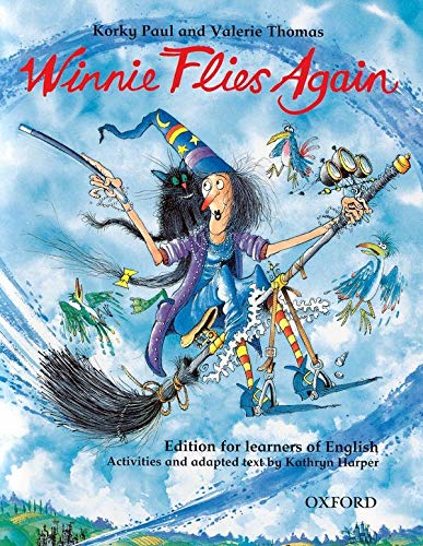 Winnie Flies Again: Story Book with Activity Booklet (Winnie The Witch)