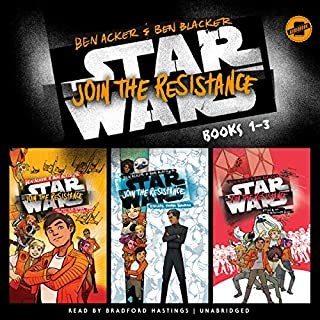Star Wars Join the Resistance: Books 1-3 audiobook cover art