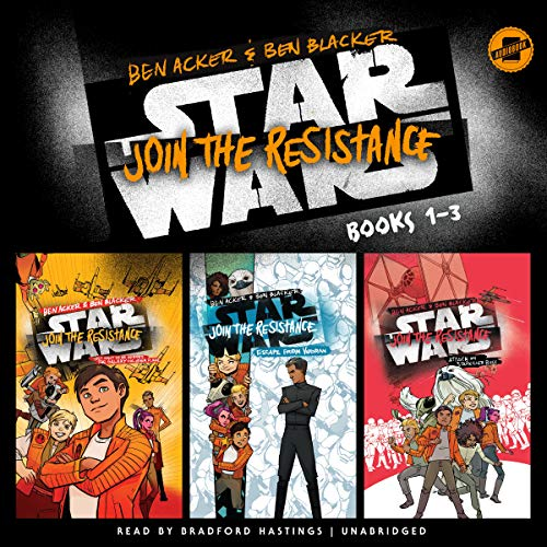 Star Wars Join the Resistance: Books 1-3  By  cover art