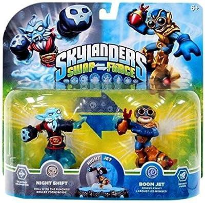 Skylanders Swap Force Night Shift and Boom Jet 2-pack