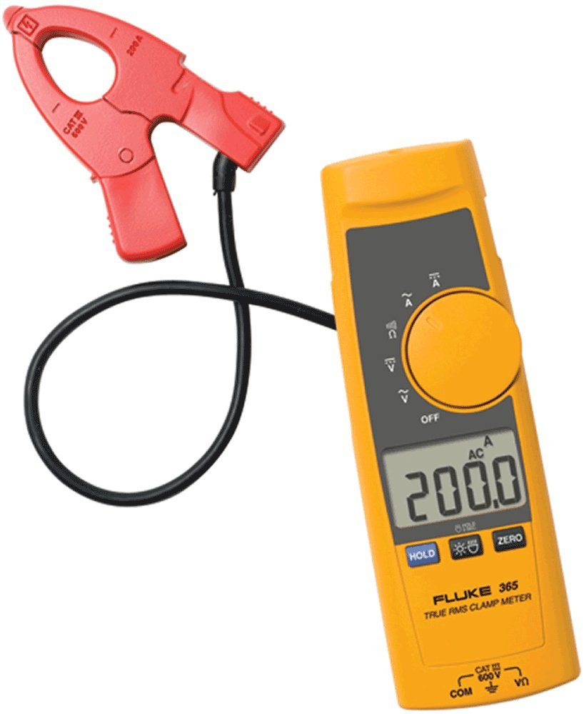 Fluke 365 Detachable Jaw True-RMS Clamp AC Large-scale sale 40% OFF Cheap Sale DC Meter